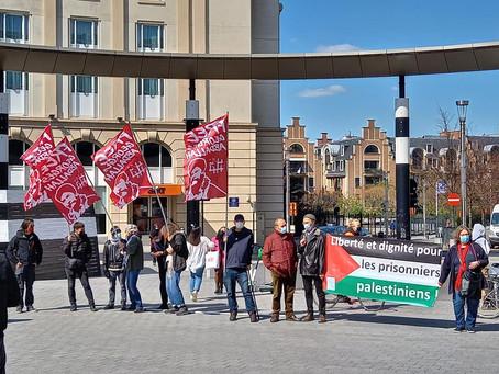 Journée de solidarité avec les prisonniers palestiniens