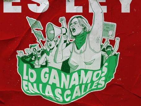 Argentine, victoire des femmes pour le droit à l'avortement gagnée dans la rue!