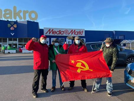 Grève nationale : les travailleurs en lutte contre l'arrogance du patronat. Unité des travailleurs!