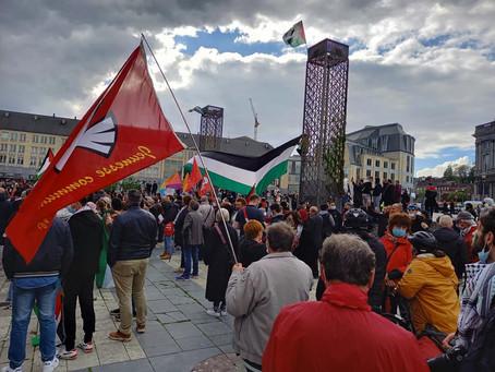 Déclaration des jeunesses communistes européennes - Solidarité avec le peuple héroïque de Palestine