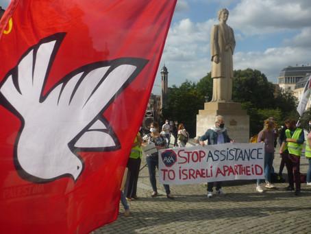 Rassemblement lundi 31 août à Bruxelles pour dénoncer les crimes d'Israël contre le peuple palestini