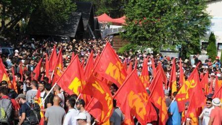 Salutations au 21e Congrès du KKE - Greetings to the 21st Congress of KKE