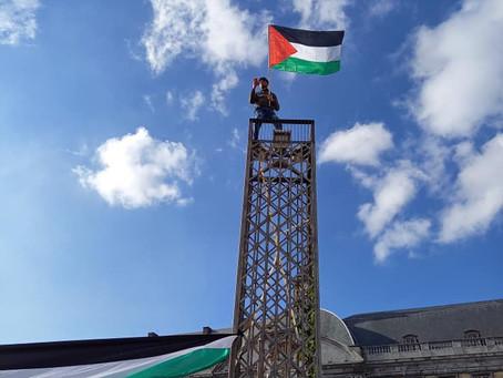 Manifestation en soutien à la Palestine à Liège