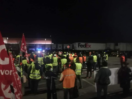 Grève chez TNT en Italie