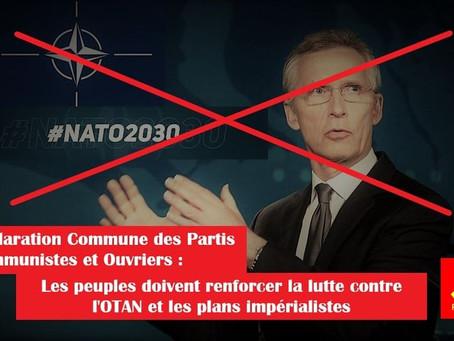 Les peuples doivent renforcer la lutte contre l'OTAN et les plans impérialistes (SolidNet)