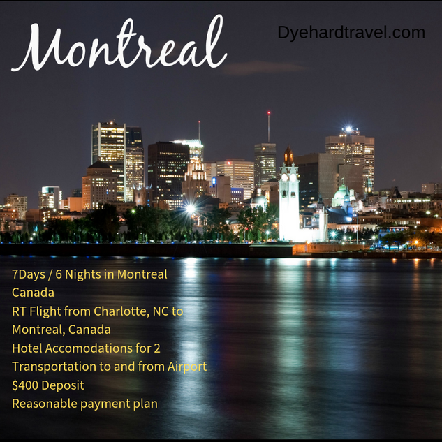 Trip to Montreal, Canada