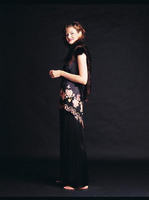 Model for Sacha Drake, Fashion Designer
