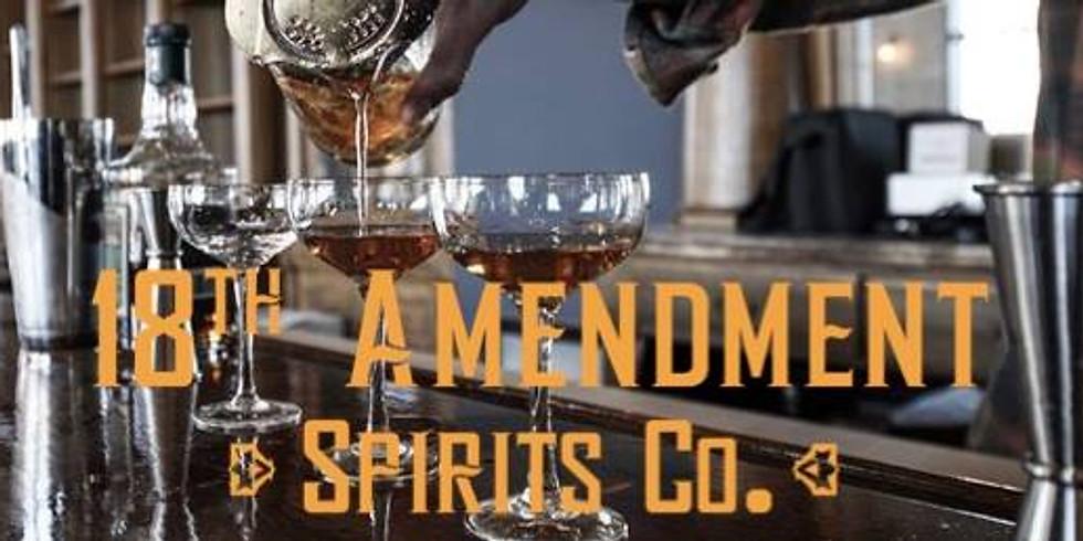 Taste Happy Hour with 18th Amendment
