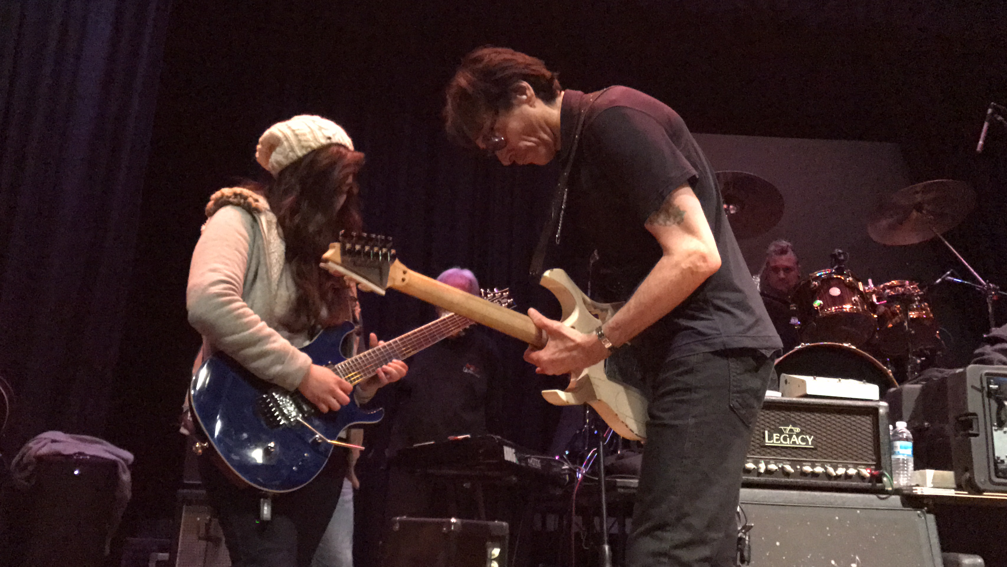 Playing wit Steve Vai
