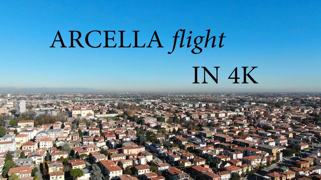 Padova - Arcella Flight in 4k