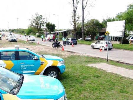 La Dirección de Tránsito realizó más de 300 controles vehiculares durante el domingo