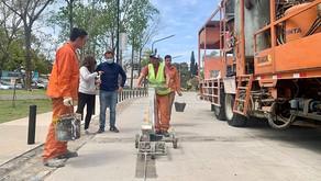 Nueva Costanera: ultiman detalles de la primera bicisenda de la ciudad