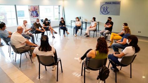 Nuevo encuentro de profesionales que integran los equipos técnicos de Rubén Romano