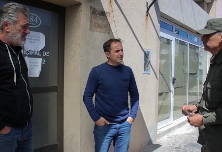 Abella se reunió con el jefe de Gendarmería y le pidió reforzar las tareas de prevención