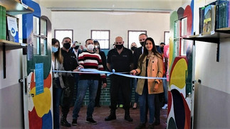Inauguraron una biblioteca en la Unidad 21, en honor a un juez bonaerense