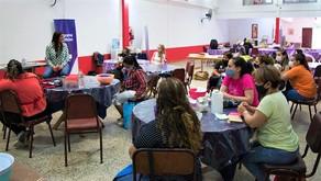 """Elisa Abella destacó """"la importancia de aprender oficios para crear empleos genuinos"""""""