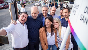 """Larreta visitó Campana y les pidió a los vecinos que vayan """"a votar en noviembre por su futuro"""""""