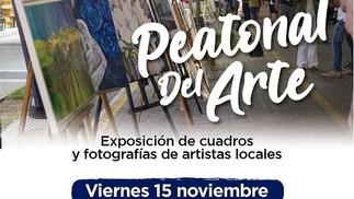 Regresa hoy la Peatonal del Arte a la avenida Rocca