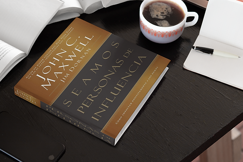 mockup-of-a-hardcover-square-book-placed