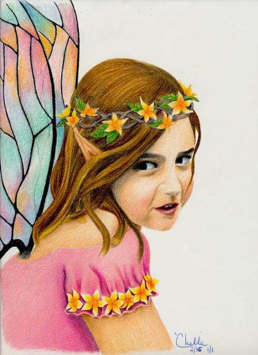 Jocelyn as a faerie