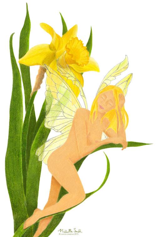 Daffodile Faerie