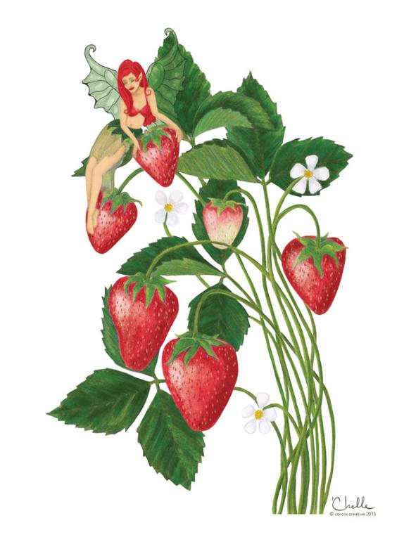 Strawberry Faerie