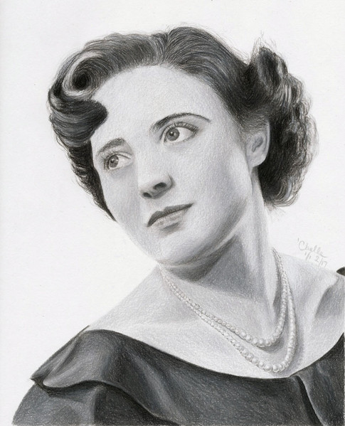 Pat - a memorial piece of a mother