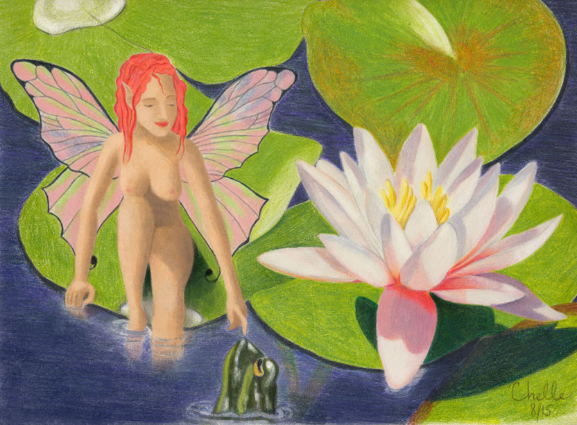 Waterlilly Faerie