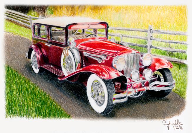 Cord 1930 L29 Formal Sedan