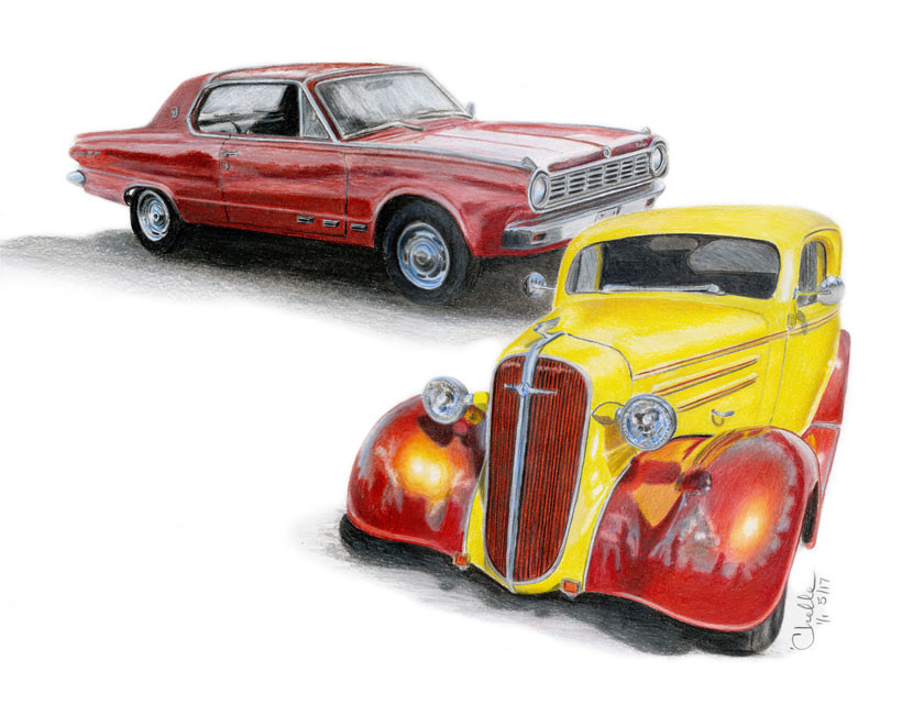 Dodge Dart & '36 Chevy