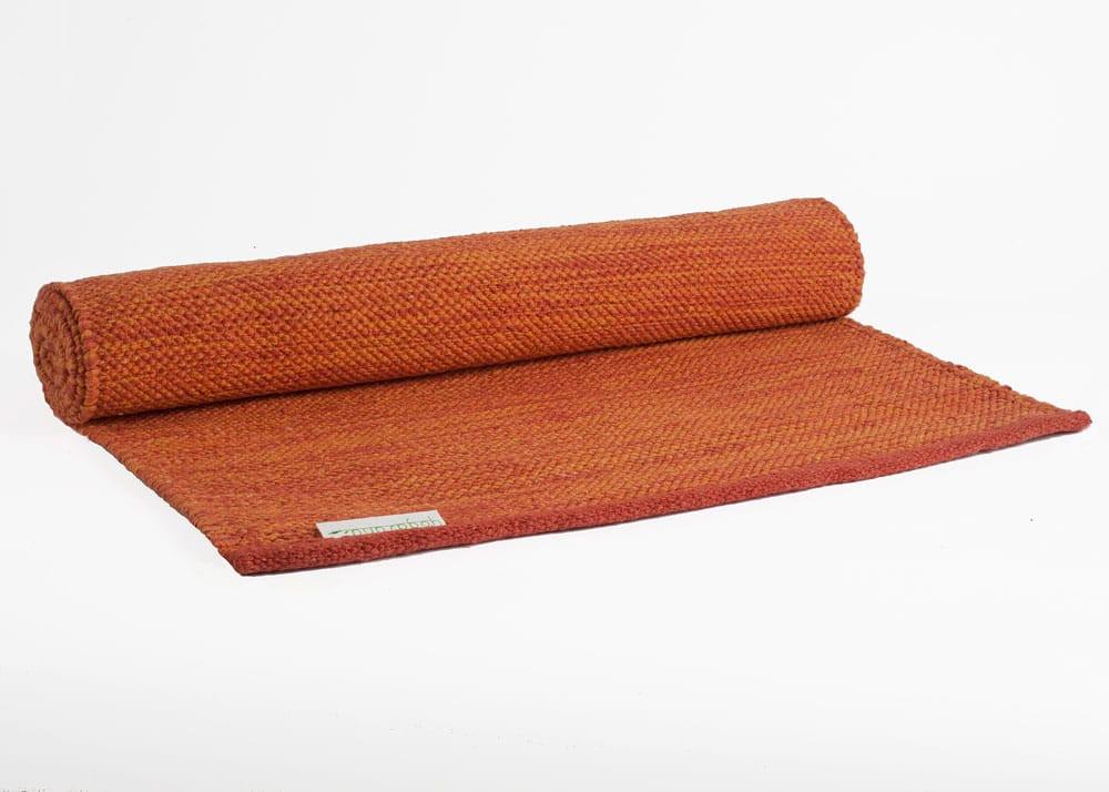 tapete de yoga 100% algodão