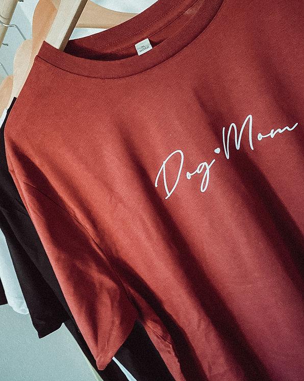 "Shirt ""Dog mom -Simple"""