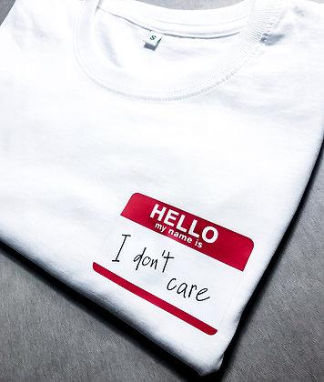 """Shirt """"Hello"""""""