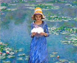 Almeta Beall - Monet Water Lilies