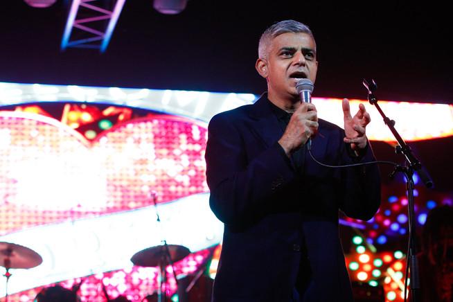 Mayor of London Sadiq Khan at Africa Exp