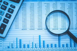 Spreadsheet bank accounts accounting wit