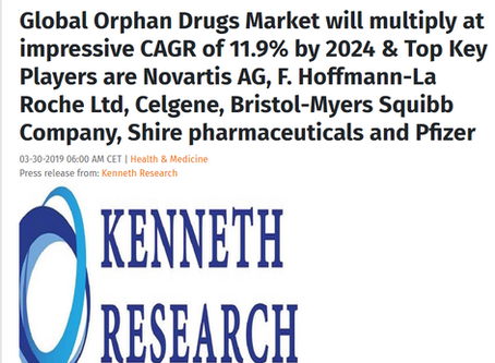 Global orphan drugs market will multiply by 2024