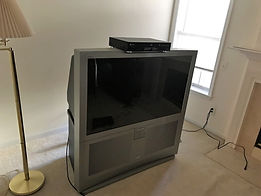 Old Television Removal from home
