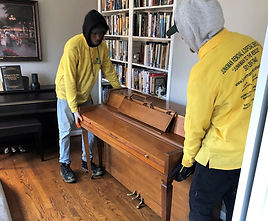 removing piano from senior home
