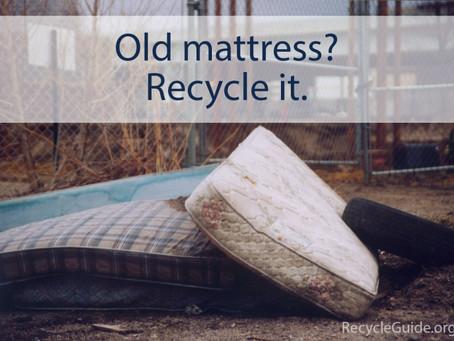 Sleep Better Tonight: The Best Ways to Recycle a Mattress