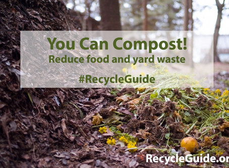 Compost to Reduce Food and Yard Waste
