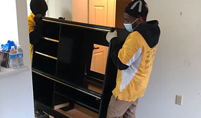 removing furniture from apartment building