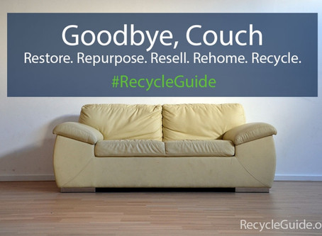 5 Ways to Recycle Furniture