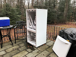 Refrigerator Removal