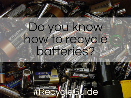 The Importance of Recycling Batteries