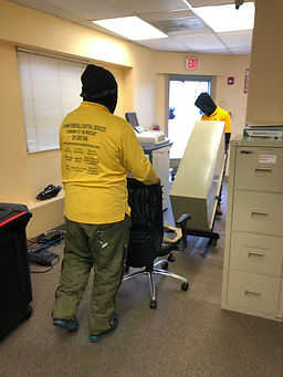 junkman removal services removing office equipment