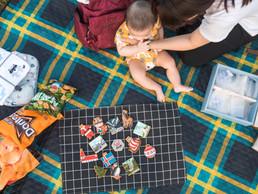 [雷克粗乃丸] 收涎不求人-儀式超簡單 4M寶寶用口水沾滿全世界 要吃就吃 甜點學收涎餅乾