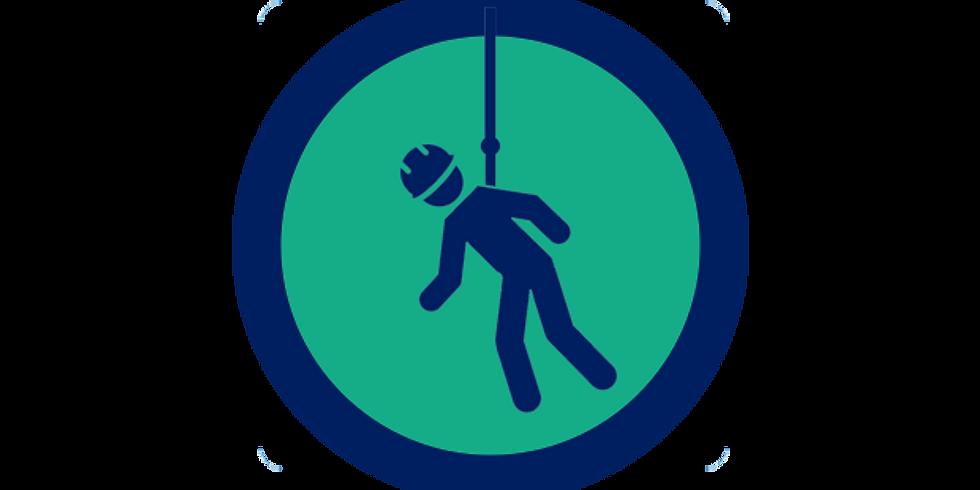 Fallskydd med räddning