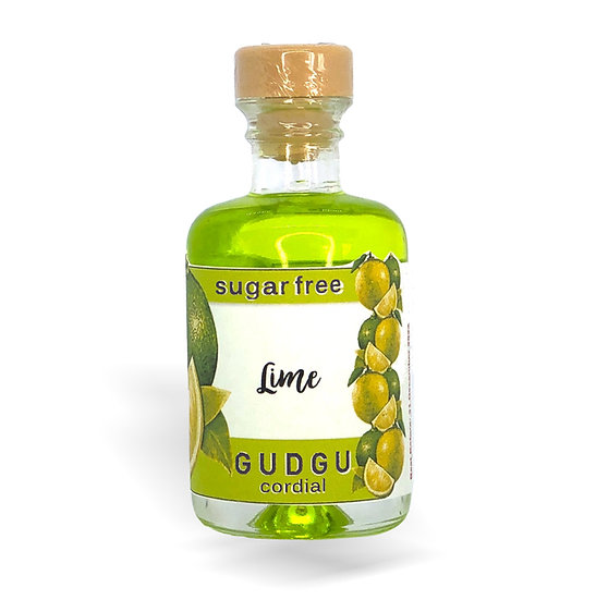 50ml Mini Lime Sugar Free Cordial
