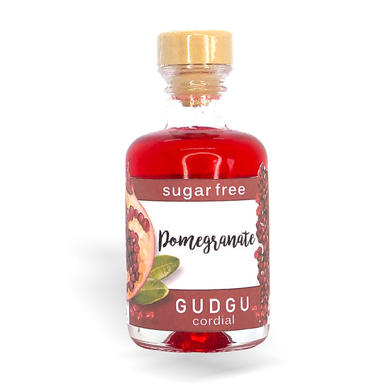 50ml Mini Pomegranate Sugar Free Cordial